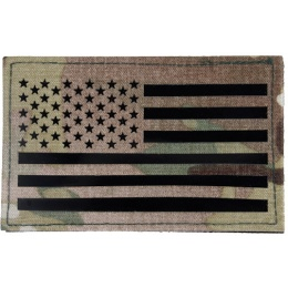 G-Force American Flag Embroidered Morale Patch - MULTICAM