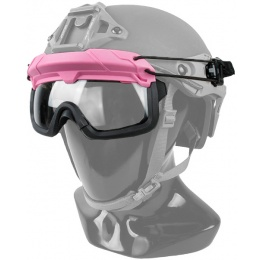 G-Force Quick-Detach Airsoft Goggles for BUMP Type Helmets - PINK