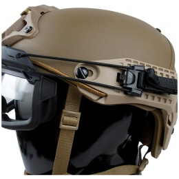 G-Force Quick-Detach Airsoft Goggles for BUMP Type Helmets - GRAY
