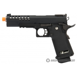 WE Tech 1911 Hi-Capa Hyper Speed Gas Blowback Airsoft PIstol - Black
