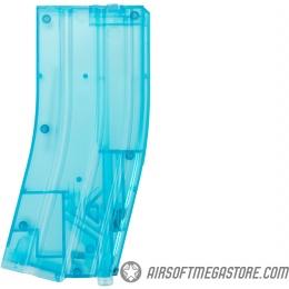 Lancer Tactical Universal 480 Round M4 Style Airsoft XL BB Speedloader - BLUE