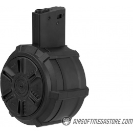 G&G 2300 Round Auto Winding M4/M16 Drum Magazine - BLACK
