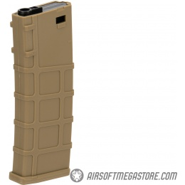 Lonex 200rd Mid Capacity M4/M16 Polymer Airsoft Magazine - TAN