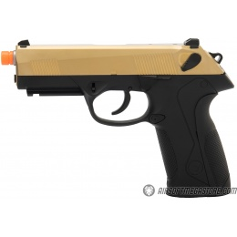 WE Tech Bulldog Full Size Full Metal Gas Blowback Airsoft Pistol - TITANIUM GOLD