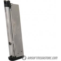 WE Tech 1911 Full Metal MEU Airsoft Gas Blowback Pistol w/ Picatinny Rail - BLACK