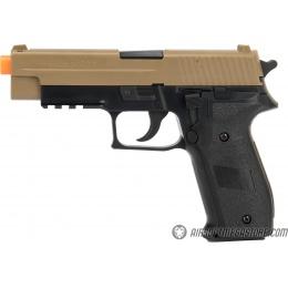 Sig Sauer P226 Spring Airsoft Pistol - BLACK / TAN