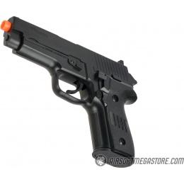 Sig Sauer P228 Spring Airsoft Pistol - BLACK