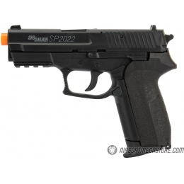 Sig Sauer SP2022 High FPS CO2 Airsoft Pistol - BLACK