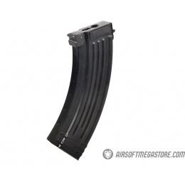 E&L Airsoft AK AIMS Platinum AEG Airsoft Rifle w/ Wood Furniture - BLACK