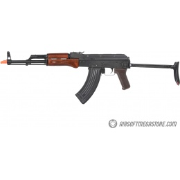 E&L Airsoft AK AIMS Platinum AEG Airsoft Rifle w/ Real Wood Furniture - BLACK