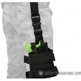 Flyye Industries SPEC-OPS MOLLE Drop Leg Pistol Holster - BLACK