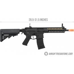 Elite Force VFC Avalon GEN 2 Gladius CQB KeyMod AEG Airsoft Rifle - BLACK