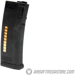 KWA 120rd MS120 Mid Capacity Airsoft AEG Rifle Magazine - BLACK