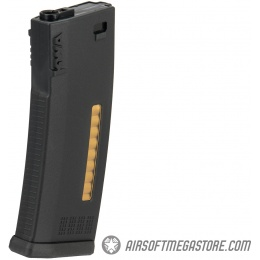 KWA 120rd MS120 Mid Capacity Airsoft AEG Rifle Magazine - BLACK