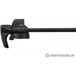 LCT A3 G3 AEG Airsoft Rifle Retractable Stock - BLACK