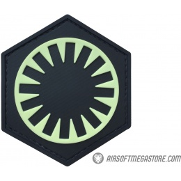 G-Force First Order PVC Morale Patch - GREEN / BLACK