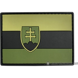 G-Force Slovakia PVC Morale Patch - GREEN