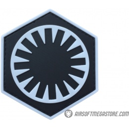 G-Force First Order PVC Morale Patch - BLUE / BLACK