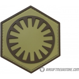 G-Force First Order PVC Morale Patch - COYOTE