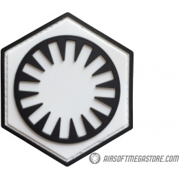 G-Force First Order PVC Morale Patch - WHITE