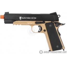 Airsoft Mega Bundle: Elite Force 1911 CO2 Pistol + Tracer BBs + 5X CO2 Cartridges