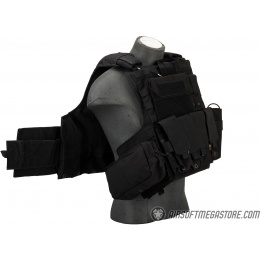 Flyye Industries 1000D 9-Pouch Maritime Force Recon Vest [LRG] - BLACK