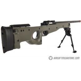 AGM MK96 Bolt Action Sniper Rifle w/ Bipod - OD GREEN