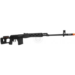 A&K SVD SSR Full Metal Airsoft (Specialized Sniper Rifle) AEG - BLACK