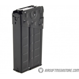 LCT Airsoft 500rd High Capacity Stripe LC-3 / G3 AEG Magazine - BLACK