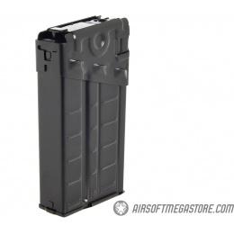 LCT Airsoft 500rd High Capacity Stripe LC-3 / G3 AEG Magazine - BLACK