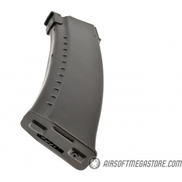 LCT Airsoft 450rd High Capacity AK74 AEG Magazine - BLACK