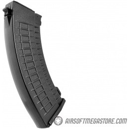 LCT Airsoft 600rd High Capacity SAM-7 Thermal AK AEG Magazine - BLACK