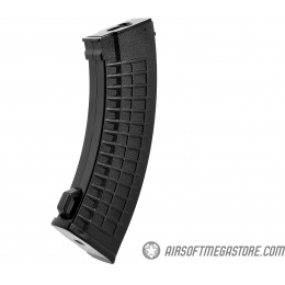 LCT Airsoft 130rd Mid Capacity SAM-7 Thermal AK AEG Magazine - BLACK