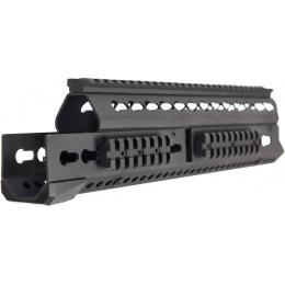 LCT Airsoft 13.5 Inch AK KeyMod Handguard Rail - BLACK