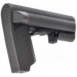 LCT Airsoft LTS Adjustable M4 Rifle Stock - BLACK