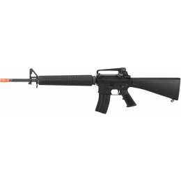 WE Tech M16A3 Open Bolt Full Metal Gas Blowback Airsoft GBBR RIfle - BLACK