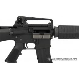 WE Tech M16A3 Open Bolt Full Metal Gas Blowback Airsoft GBBR RIfle - BLACK