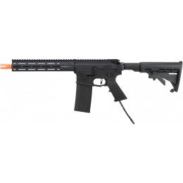 Wolverine Airsoft MTW Modular Training Weapon HPA M4 SBR Airsoft Rifle - BLACK