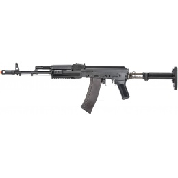 LCT Airsoft STK-74 Tactical AK AEG Rifle - BLACK