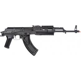 LCT Airsoft TIMS AK47 AEG Rifle w/ Folding Wire Stock - BLACK