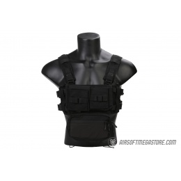 Emerson Gear Low Profile Modular Chest Rig System- BLACK