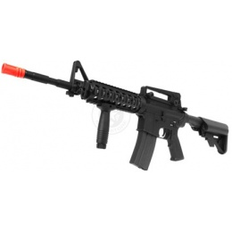 440 FPS A&K Full Metal Airsoft M4 RIS Carbine AEG - Full Metal Gearbox