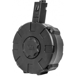 Classic Army 1400rd Nemesis X9 Electric Drum Magazine - BLACK