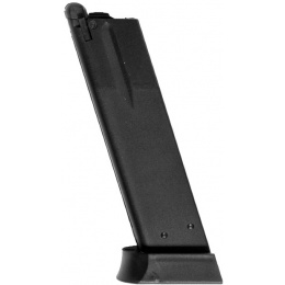 ASG 26rd CZ-P01 Shadow Gas Blowback Airsoft Pistol Magazine - BLACK