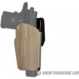 Emerson Gear Universal Hard Shell Pistol Holster w/ Belt Clip [Right Handed] - DARK EARTH
