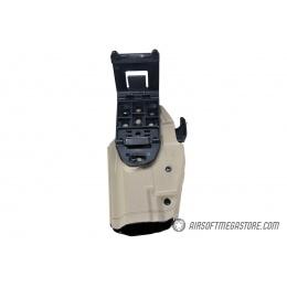 Emerson Gear Universal Hard Shell Pistol Holster w/ Belt Clip [Right Handed] - DARK EARTH