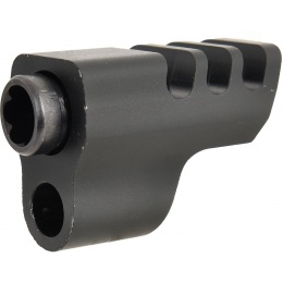 WE Tech IPSC X004 Competition Airsoft Pistol Compensator - BLACK