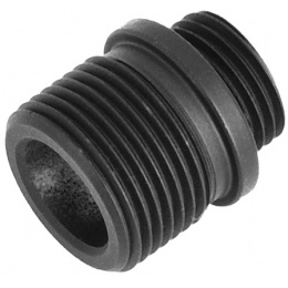 WE Tech 14mm CCW Threaded Adapter for GBB Pistols - BLACK