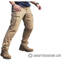 Emerson Gear Blue Label Ergonomic Fit Long Pants [Large] - KHAKI