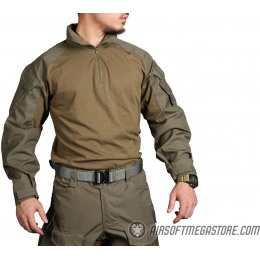 Emerson Gear Blue Label Combat Tactical BDU Shirt [Small] - RANGER GREEN